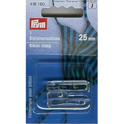 Prym BH Zubehör Festeller Ringe Versteller 18 mm transparent von 991913