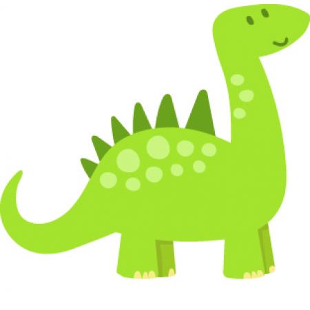 Bügelbilder Dino
